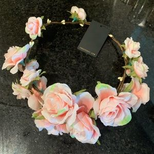 NWT Boho flower crown headband